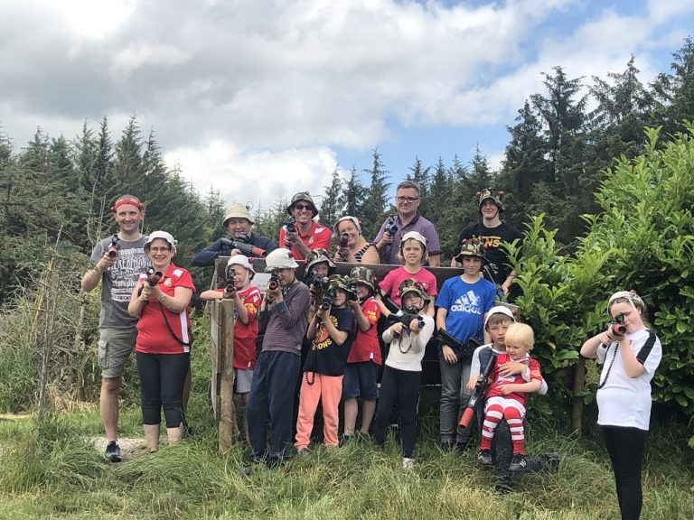 Junior and Youth Dragons' Laser Combat Fun